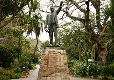 Hinterland Statue in the Company Gardens, Cape Town