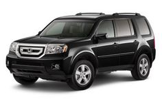 My current car, a Honda Pilot.  One of my favorite cars I've owned.  Wish mine was this clean.