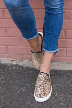 Cheetah print mule sneakers | Sole Society Belynda | Photo: The Real Fashionista