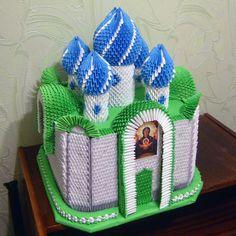 Модульное оригами_церковный храм