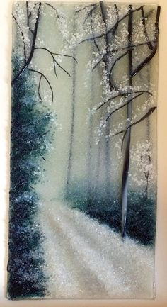 """Winter Blues"" By Diane Quarles - Delphi Artist Gallery"