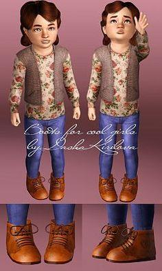 Sims 3 / Boots - Dasha Kirilova / Toddler Female