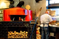 open pizza oven, which was imported from a generation pizza oven making family in Naples Open Pizza, Naples, Oven, Home Decor, Decoration Home, Room Decor, Ovens, Home Interior Design, Home Decoration