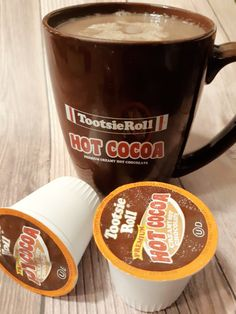 The Ultimate Single Serve Hot Cocoa - The Frugal Grandmom Chocolate Roll, Yummy Drinks, Frugal, Cocoa, Rolls, Animals, Chocolate Roll Cake, Animales, Animaux