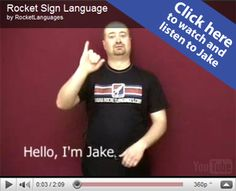 Rocket Sign Language Premium Introduction Video
