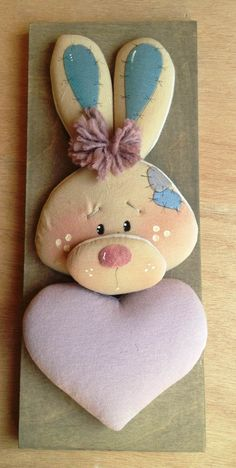 Bunny Crafts, Felt Crafts, Diy And Crafts, Arts And Crafts, Name Banners, Frozen Party, Easter Wreaths, Sewing Crafts, Creations