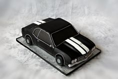 Chevy Chevelle Grooms Cake - 1966 Chevy Chevelle.