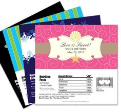 How to Make Candy Bar Wrappers for Party Favors ~ Frugalful.com