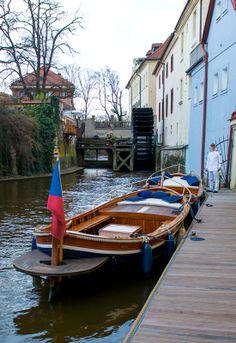 "The ""Little Venice of Prague"" / Devil's Stream / Certovka, Prague, Czech Republic"