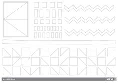 Bold colours and classic shapes make Geometrisk.