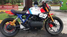 Bmw Vintage, Vintage Bikes, Sport Motorcycles, Café Racers, Custom Bikes, Gypsy, Paint, Cars, Inspiration