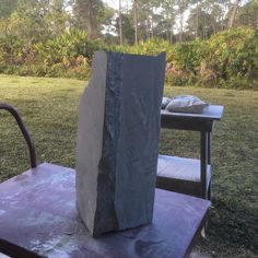 Starting my commissioned sculpture. This the starting point. #fineart #commissioned sculpture #interiordesigners #contemporaryart #stonesculpture