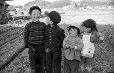 1956年、仲良し四人組。