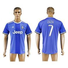Juventuss 16-17 #Zaza 7 Udebanetrøje Kort ærmer,208,58KR,shirtshopservice@gmail.com