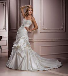 Vestido de novia Maggie Sottero modelo Parisina disponible en la tienda de novias De Novia a Novia. San José, Costa Rica.