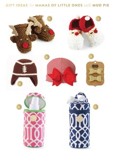Another FAB gift guide from Emily Ley!  We love her picks!  These will look adorable on the twins! :)