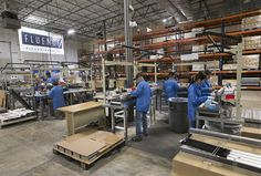 For the third time in three years, Fluence Bioengineering, an Austin company that makes lights for indoor plant growing, has moved into a yet-bigger manufacturing facility.