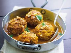 Boulettes de porc au curry