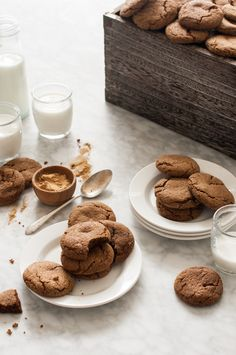 Chewy Ginger Molasses Cookies - The Kitchen McCabe