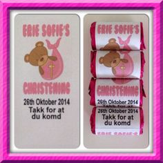 Our first international order on it's way to Norway.  Our cute Christening Favours  #christening #favours #norway