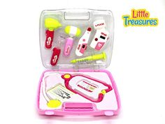 Girly Doctor Checkup Pretend Play Dr Toy Set >>> Check out the image by visiting the link.
