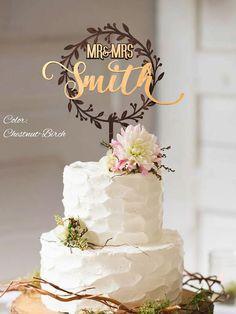 Rustic Wedding Cake Topper. Rustic wedding decor. Rustic cake topper. Wedding cake topper rustic. Cake topper rustic.