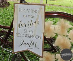 Detalle bici, banderín personalizado ~ Ceremonia