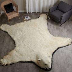 10 Foot Polar Bear Rug #EP411263