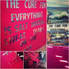 DIY Words on Canvas Art Project! See easy tutorials here! Subway art and Quotes on Canvas!