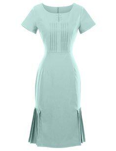 GownTown 1950s Vintage Dresses O-neck Short-sleeves Dresses Stretchy Dresses at Amazon Women's Clothing store: https://www.amazon.com/gp/product/B01FQTCA8Y/ref=as_li_qf_sp_asin_il_tl?ie=UTF8&tag=rockaclothsto-20&camp=1789&creative=9325&linkCode=as2&creativeASIN=B01FQTCA8Y&linkId=5dbc97908a94eb870888cc09ea2eebe2