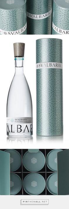 Svalbardi Polar Iceberg Water — The Dieline - Branding & Packaging…