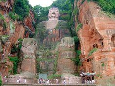 Leshan Giant Buddha - Cina