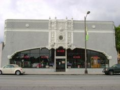 The Howard Motor Company Building is at 1285 East Colorado Blvd. in Pasadena, CA.  It is currently vacant and closed to the public, but is easy to view from public right of ways.