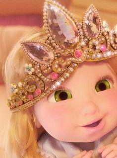 Rapunzel as a toddler Tangled Disney Pixar, Disney Rapunzel, Tangled Rapunzel, Princess Rapunzel, Barbie Princess, Disney Fan Art, Disney Animation, Walt Disney, Disney Princess