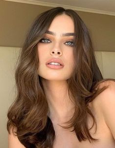 Fabulous Style of Medium Length Haircuts to Copy Now Blonde Haircuts, Girl Haircuts, Hairstyles Haircuts, Medium Hair Cuts, Medium Hair Styles, Long Hair Styles, Shoulder Length Hair, Bridal Makeup, Hair Inspo