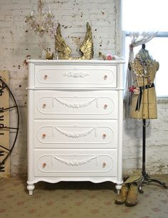 Painted Cottage Chic Shabby Romantic French by paintedcottages