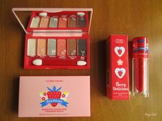 The Beauty Sweet Spot: REVIEW: Etude House (Berry Delicious) Fantastic Co...