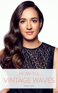 Celebrity hairstylist Jen Atkin shares how to get perfect, sleek, retro waves. #hair #tutorial