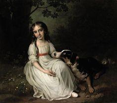 Jens Juel - Portræt af Frederikke Maria Sophia Brockdorff (1796) - Category:Jens Juel - Wikimedia Commons