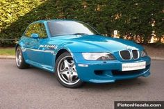 Nice colour for the BMW Z3 M Coupe