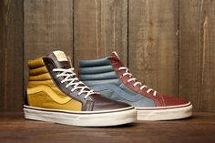Vans Leather Sk8-Hi Reissue CA