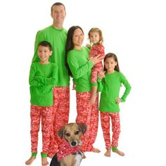 Christmas Cheer Family Matching Flannel Loungesets by SleepytimePjs (2T)