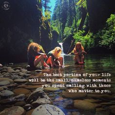 The best portion of life will be the small nameless moments you spend smiling with those who matter to you. Words Quotes, Me Quotes, Motivational Quotes, Inspirational Quotes, Soul Sister Quotes, Gypsy Soul Quotes, Spirit Quotes, Inspiring Sayings, Friend Quotes