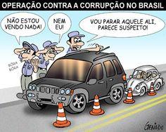 Operação nacional contra a corrupção...