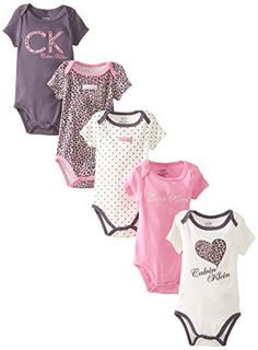 Calvin Klein Baby-Girls Newborn 5 Pack Bodysuits Animal Print Group, Multi, 0-3 Months Calvin Klein http://www.amazon.com/dp/B00K14AVBI/ref=cm_sw_r_pi_dp_7cMFub06WSW3Q