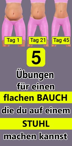 5 Übungen für einen flachen Bauch, die du auf einem Stuhl machen kannst 5 exercises for a flat stomach that you can do on a chair & The post 5 exercises for a flat stomach that you can do on a chair appeared first on Leanna Toothaker. Fitness Workouts, Yoga Fitness, Physical Fitness, At Home Workouts, Fitness Motivation, Health Fitness, Planet Fitness, Exercise Motivation, Fitness Routines
