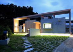 Mun Jeong Heon house by A.M Architects | Bongsan-myeon, South Korea