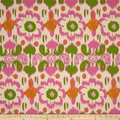 Premier Prints Rio Gumdrop/Natural - for couch/chair upholstery
