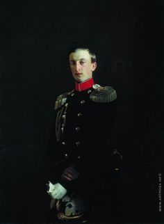 Nikolay,son of Nikolay I,called The Eldest. He was a brilliant engineer and devoted his life to Russian Army and Cavalry. In his youth he was in love with the princess of Prussia, but the marriage failed.At the age of 24 he has to marry Duchess Alexandra Frederika of Oldenburg, who was also a great granddaughter of Emperor Pavel I of Russia, so Nikolay The Eldest was her uncle. The marriage was unhappy,Nikolay got a mistress, claimed his wife in breach of faith and withdrew her out of palace