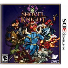 Best Buy lists Shovel Knight as getting a retail release on 3DS